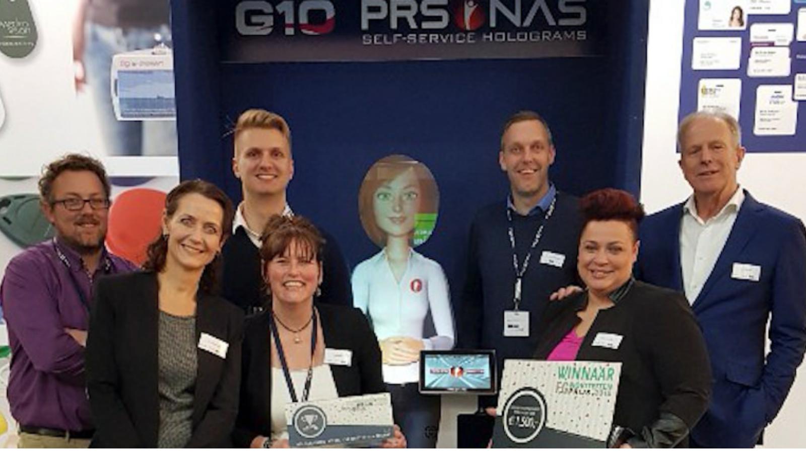 PRSONAS FG Noviteitenprijs 2018 winner