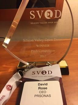 SVOD 2017 award PRSONAS