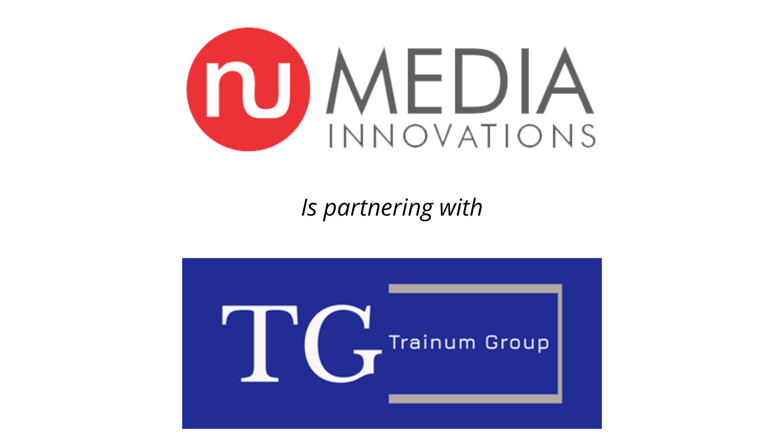 nuMedia Trainum partnership