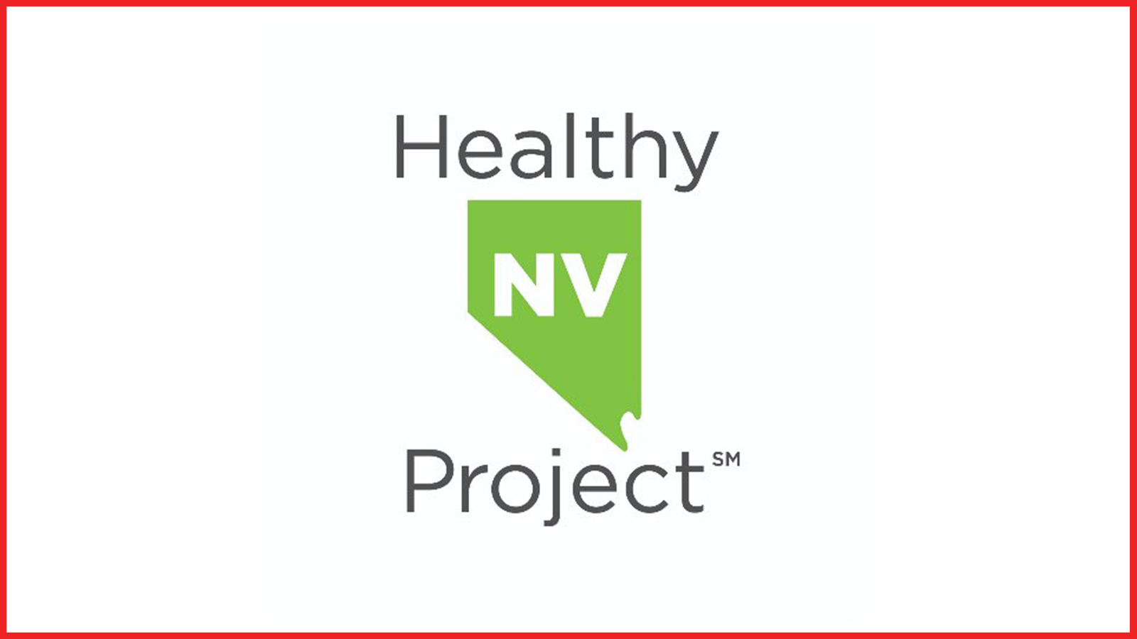 healthy nevada project logo in red border